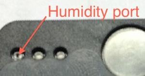 Humidity port