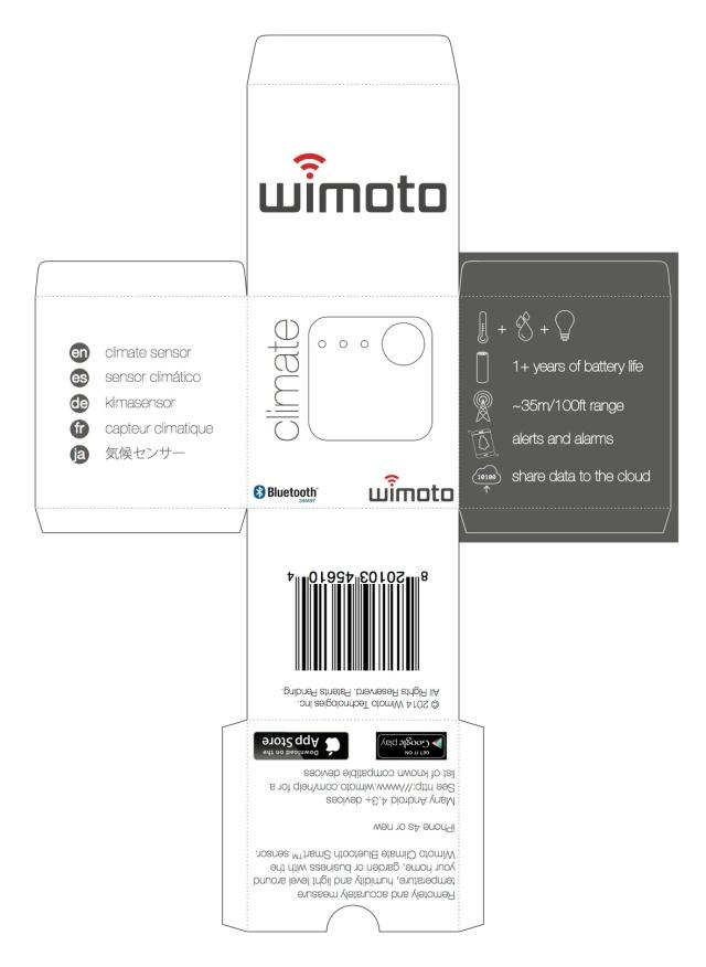 Wimoto Climate box